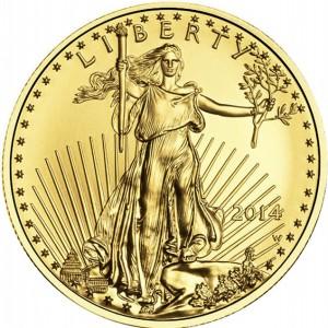 2014 1/10 oz American Gold Eagle (BU)