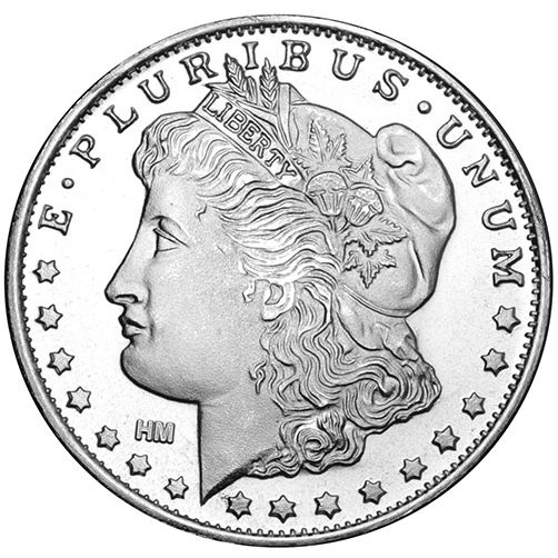 1 oz Morgan Silver Round (New)