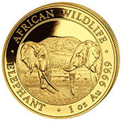 Gold Elephants