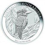 2014 1 oz Australian Silver Kookaburra (BU)