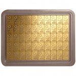 50 Gram Valcambi Gold CombiBar (New w/ Assay)