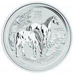 2014 1 oz Australian Silver Horse (BU)