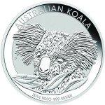 2014 1 Kilo Australian Silver Koala (BU)