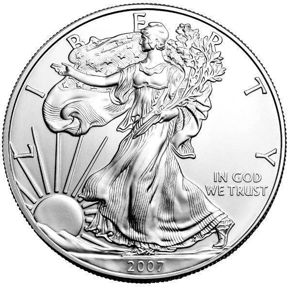 2007 American Silver Eagle (BU)
