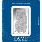 100 Gram PAMP Suisse Silver Bar (New w/ Assay)