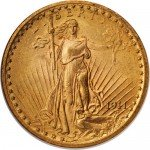 $20 Saint Gaudens Gold Double Eagle (Cleaned)
