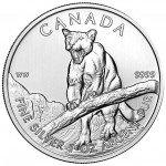 2012 1 oz Canadian Silver Cougar (BU)